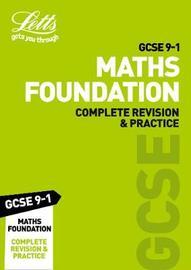 GCSE 9-1 Maths Foundation Complete Revision & Practice by Letts GCSE image