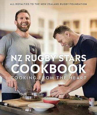 NZ Rugby Stars Cookbook image