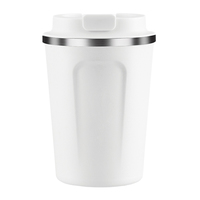 Asobu Cafe Compact Coffee Mug (White)