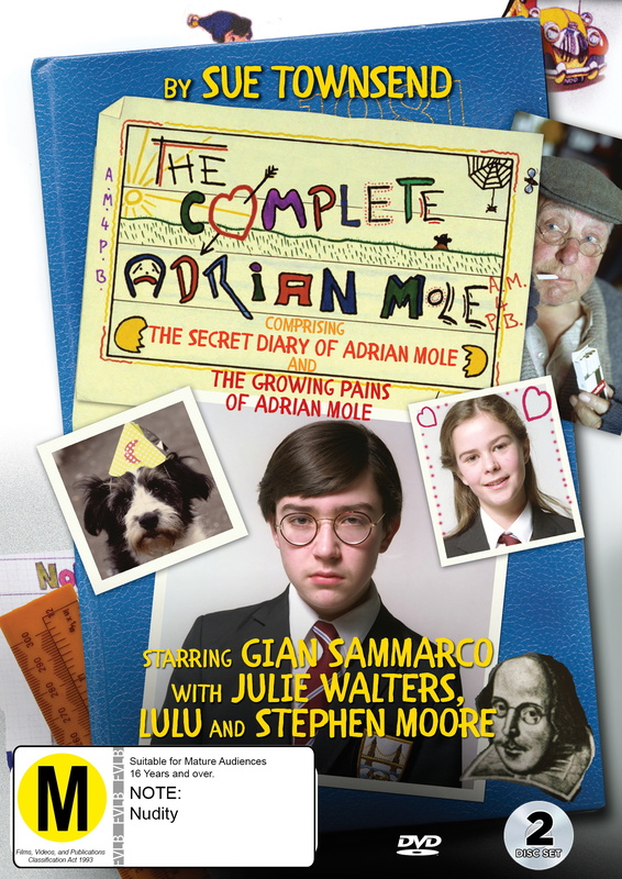 Adrian Mole - The Complete Series on DVD