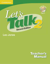 Let's Talk Teacher's Manual 2 with Audio CD by Leo Jones