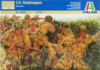 Italeri U.S Paratroopers (WWII) 1:72 Model Kit