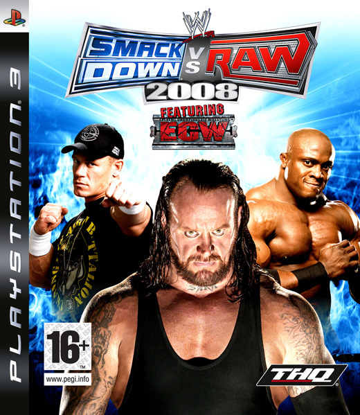 WWE Smackdown! vs. RAW 2008 (Platinum) for PS3