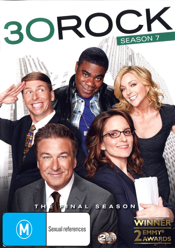 30 Rock - Season 7 on DVD