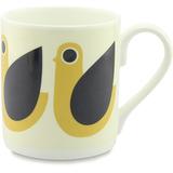 Orla Kiely Mug - Dove Yellow