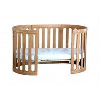 Kaylula Sova 4 in 1 Cot Bed (Beech)