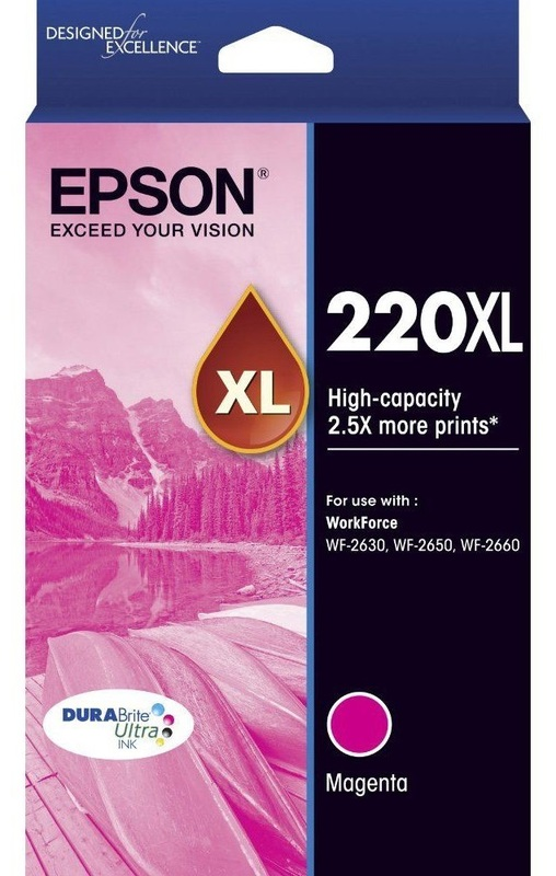 Epson Ink Cartridge - 220XL (Magenta)