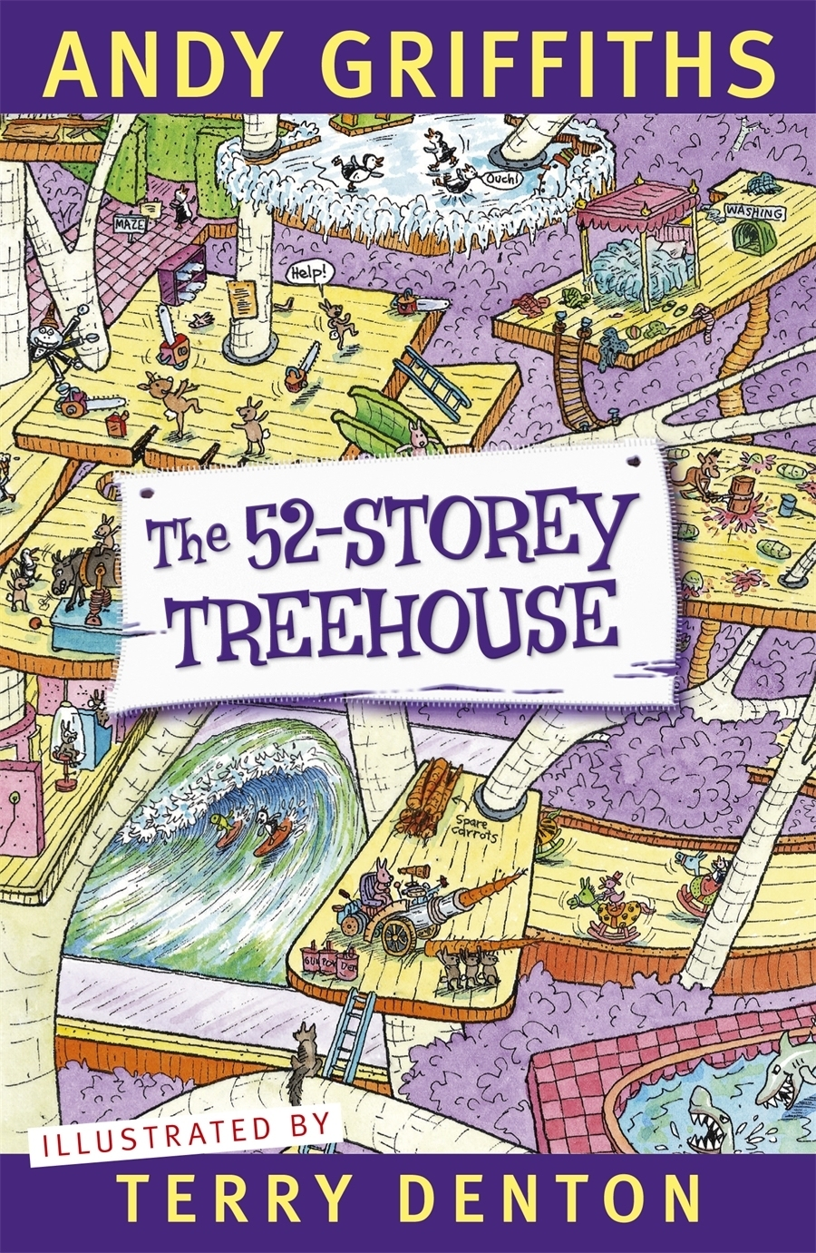 Andy Griffiths Treehouse Part - 21: The 52-Storey Treehouse By Andy Griffiths Image