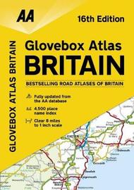 AA Glovebox Atlas Britain by AA Publishing