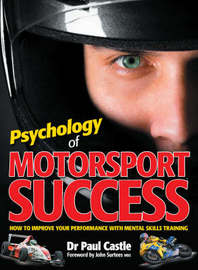 Psychology of Motorsport Success by Paul Castle image