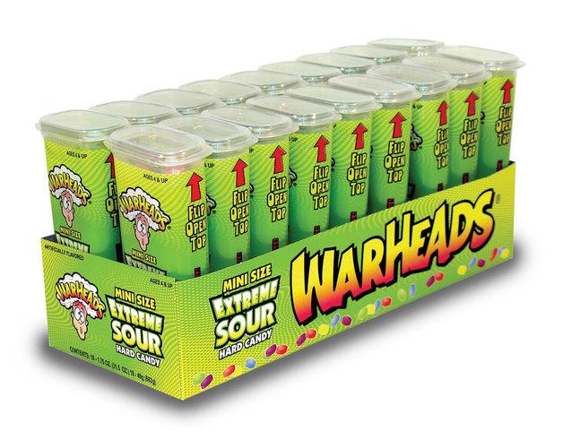 Warheads Extreme Sour Mini Size 49g