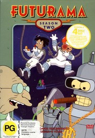 Futurama - Season 2 (4 Disc Box Set) on DVD image