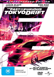 The Fast and the Furious - Tokyo Drift: Supercharged Edition on DVD