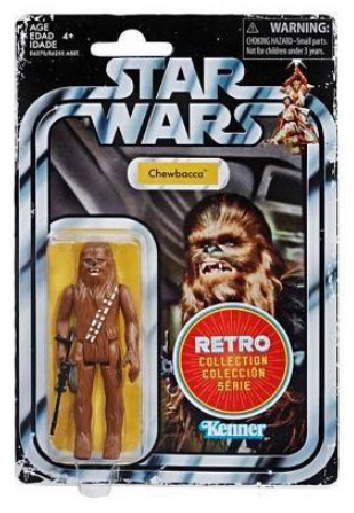 "Star Wars: Chewbacca - 3.75"" Retro Action Figure"