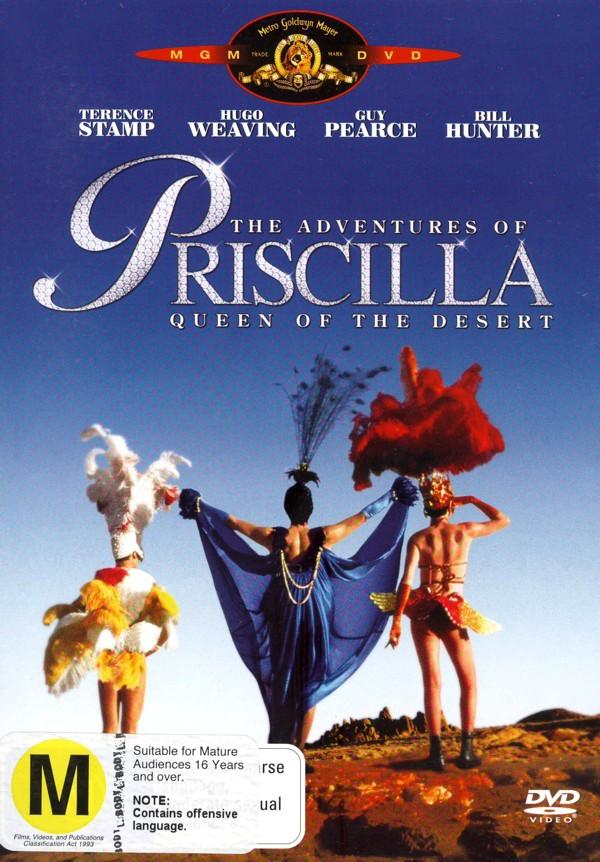 The Adventures of Priscilla Queen of the Desert on DVD image