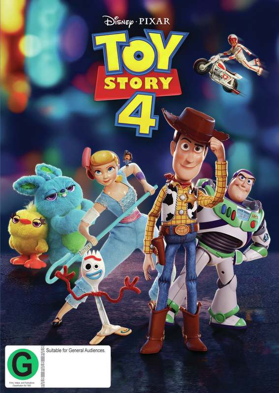 Toy Story 4 on DVD