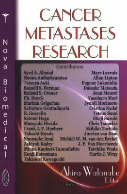 Cancer Metastases Research by Akira Watanabe image