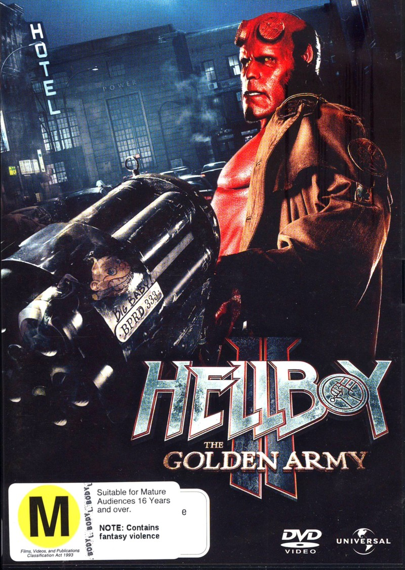 Hellboy II: The Golden Army on DVD image