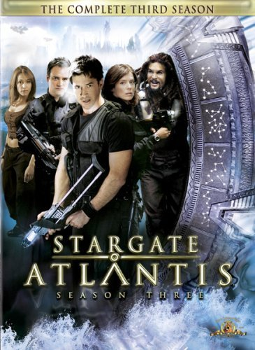 Stargate Atlantis - Complete Season 3 (5 Disc Slimline Set) (New Packaging) on DVD
