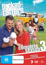 Packed to the Rafters - Season 3 (6 Disc Slimline Set) on DVD