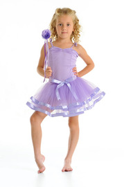 Fairy Girls - Twirl Tutu Skirt (Lavender, age 3-8)