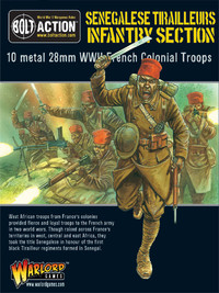 French Army: Sengalise Tirailleurs