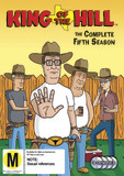 King of the Hill - Complete Season 5 (4 Disc Set) on DVD