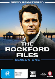 The Rockford Files: The Complete Season 1 (Newly Remastered) on DVD