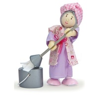 Le Toy Van: Budkins - Mrs Mop The Cleaning Woman