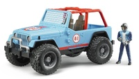 Bruder: Jeep Cross Country Racer - Blue