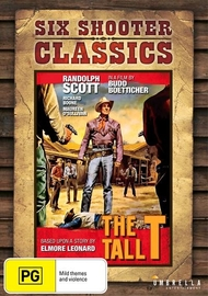 The Tall T (Six Shooter Classics) on DVD