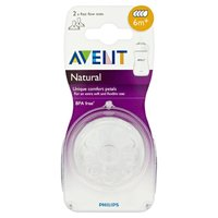 Avent Natural Fast Flow Teat (2pk)