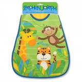 Stephen Joseph Wipeable Bib - Monkey