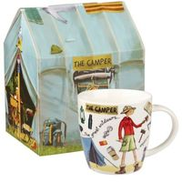 Queens At Your Leisure Camper Mug In Box (400ml)