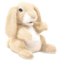 Folkmanis Hand Puppet - Sniffing Rabbit image