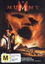 Mummy, The Collector's Edition on DVD image