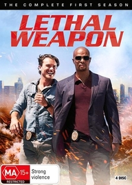 Lethal Weapon - Season 1 on DVD image