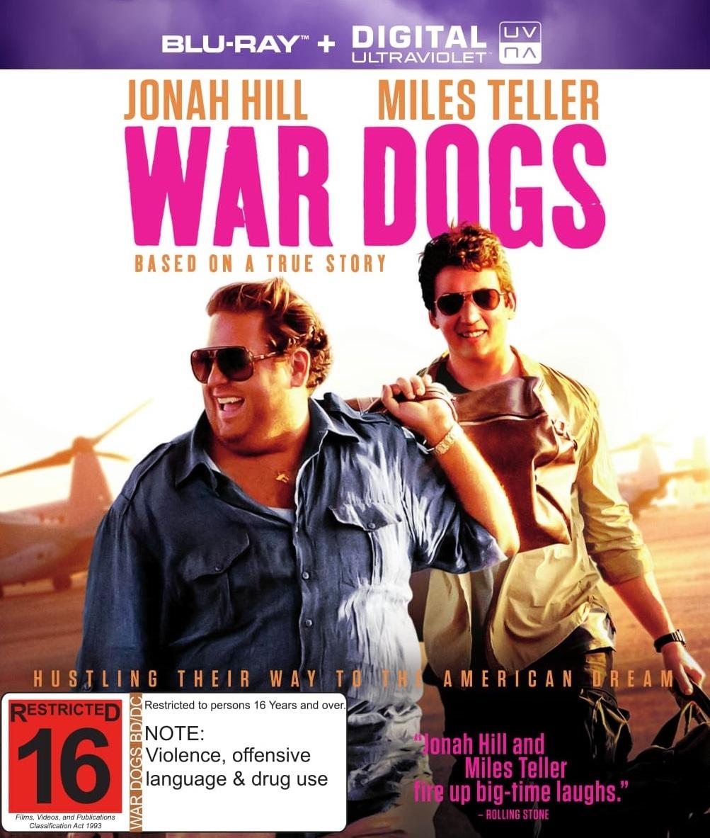 War Dogs on Blu-ray image