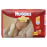 Huggies: Little Snugglers Premature Nappies 30s (Up To 3kg) image