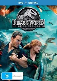 Jurassic World: Fallen Kingdom on DVD, DC