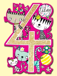 Rachel Ellen: Age 4 Cats