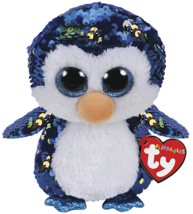 TY Beanie Boo: Flip Payton Penguin - Small Plush