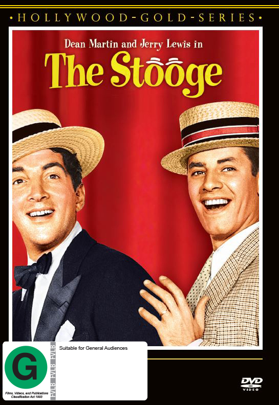 The Stooge on DVD image