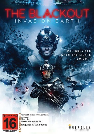 The Blackout: Invasion Earth on DVD