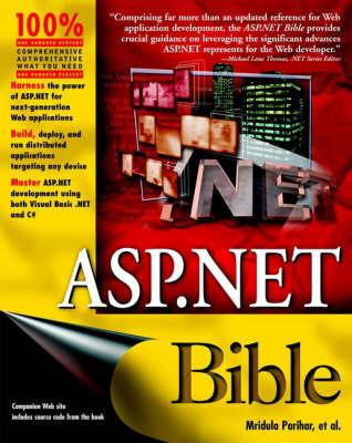 ASP.NET Bible by Anju Sani