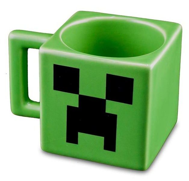 Minecraft: Creeper Face Mug