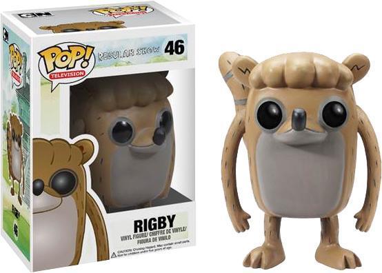 Pop Vinyl Rigby Figure image