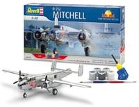 """Revell B-25J Mitchell """"Flying Bulls"""" Gift Set 1/48 Model Kit"""
