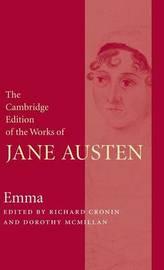 The Cambridge Edition of the Works of Jane Austen 8 Volume Paperback Set by Jane Austen