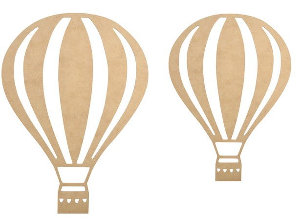 Buy Beyond The Page Wooden Wall Art Hot Air Balloon At Mighty Ape Nz